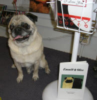 Emmitt with his book - Emmitt & Olive - Nov. 2007